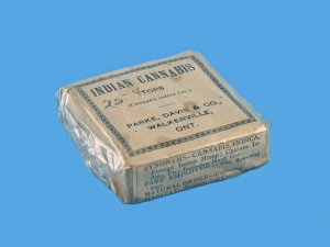 Indian Cannabis Box.  Museum of Healthcare, # 000001051