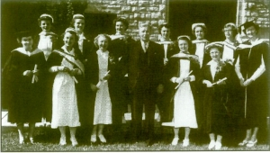Queen's School of Nursing Graduates Class of 1951.  MHC Collection