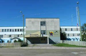 Weeneebayko General Hospital, Moose Factory, Ontario. Image Courtesy of Weeneebayko General Hospital.