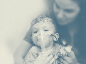 Pertussis, or whooping cough, infects people of all ages but is most dangerous for the very young and elderly.  Deep, racking coughs persist for weeks on end, disrupting the ability to sleep and work productively and often inducing vomiting.   A pertussis vaccine was developed in the 1930s, but work continued in laboratories to find better options into the 1990s.  Currently, the pertussis vaccine is given in combination with the diphtheria and tetanus vaccines and is very effective.  Image courtesy of Sanofi Pasteur Canada (Connaught Campus) Archives