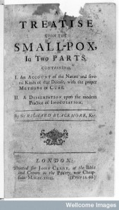 Title page, A treatise upon the small-pox.  Wellcome Library, London.