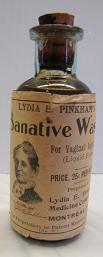 One of two Lydia E. Pinkham Medicine Company artefact recent  donated to  the Museum