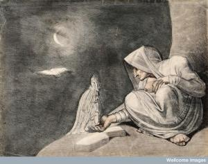 A witch in the moonlight Credit: Wellcome Library, London. Wellcome Images