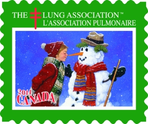 The Lung Association's 2014 Christmas Seal. Source: The Lung Association, http://www.lung.ca/get-involved/order-your-christmas-seals