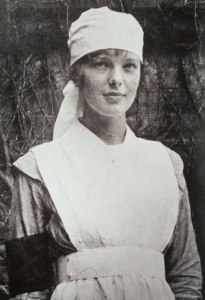 Amelia Earhart as a VAD nurse in Toronto, 1917. Amelia Mary Earhart Papers, Schlesinger Library, Radcliffe Institute, Harvard University
