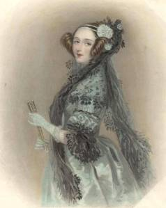 Augusta Ada King, Countess of Lovelace Source: William Henry Mote, 1838 The Ada Picture Gallery