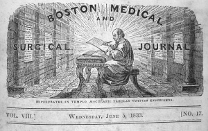 Boston Medical and Surgical Journal, 1833. Bernard Becker Medical Library.