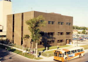 The University of Manitoba's Faculty of Medicine Cadham Provincial Laboratory in 1980