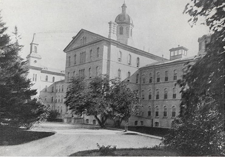 Exterior of Rockwood Asylum, ca. early 1900s- KPH Historic Collection, Providence Care