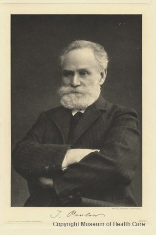 Portrait of famed experimenter Ivan Pavlov.